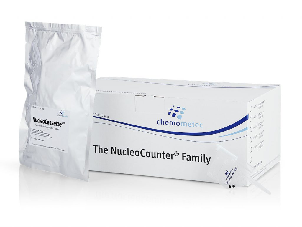 NucleoCassette™ - Specialized Cell Sampling Cassette for NucleoCounter®