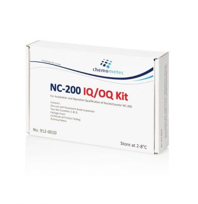 NucleoCounter® NC-200™ IQ/OQ Test Kit for Installation and Operation Testing
