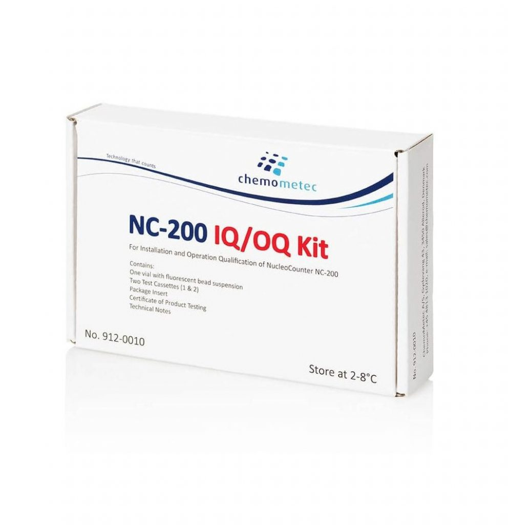NC-200 IQ/OQ Test Kit for Installation and Operation Testing