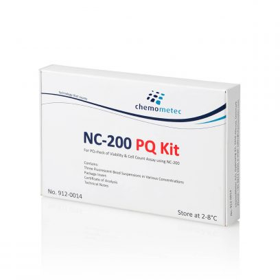 NucleoCounter® NC-200™ PQ Kit for Performance Qualification