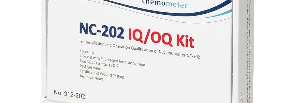 NucleoCounter® NC-202™ IQ/OQ Kit for Installation and Operation Testing